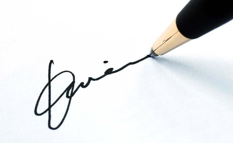 Перевірка достовірності висновку експертизи почерку і підпису
